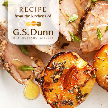 RECIPE-pork-tenderloin-grilled-peaches_350x350